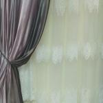 портьера неоновый велюр цена 820 грн м.п., гардина сетка, вышивка 490 грн м.п.